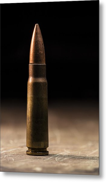 7.62 X 39mm Metal Print