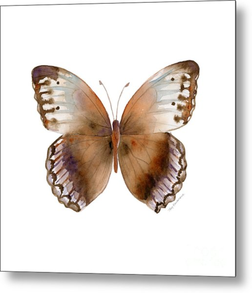 79 Jungle Queen Butterfly Metal Print