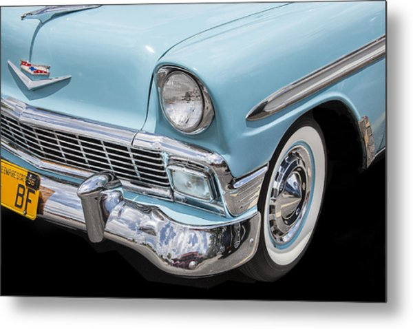 1956 Chevrolet Bel Air Convertible Metal Print
