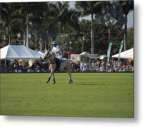 International Polo Club Metal Print