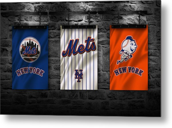 New York Mets Metal Print