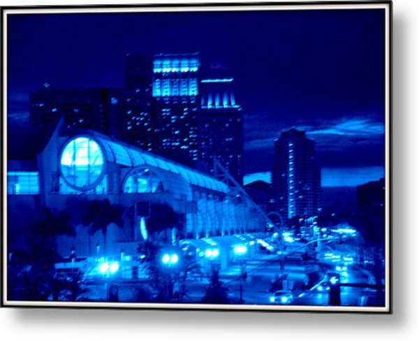 Night Shoot Metal Print by JJ Cross