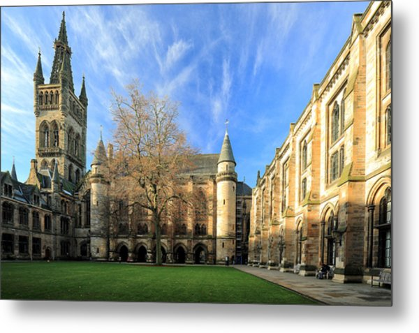 University Of Glasgow Metal Print