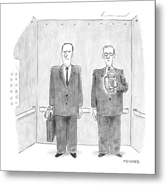 New Yorker February 7th, 2005 Metal Print