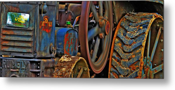 Wheels Of Time Metal Print