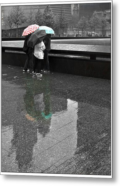 8455 Strong Reflections Metal Print by Deidre Elzer-Lento