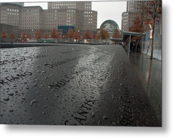 8488 911 Memorial View Metal Print by Deidre Elzer-Lento