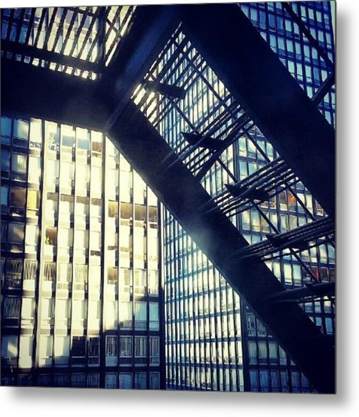 860-880 From The Fire Escape Metal Print