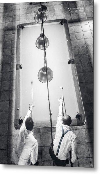 Metal Print featuring the photograph 9 Ball Lag by Stwayne Keubrick