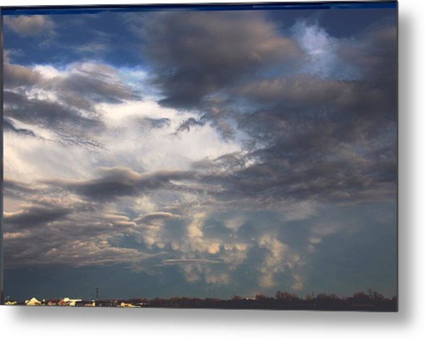 Let The Storm Season Begin Metal Print