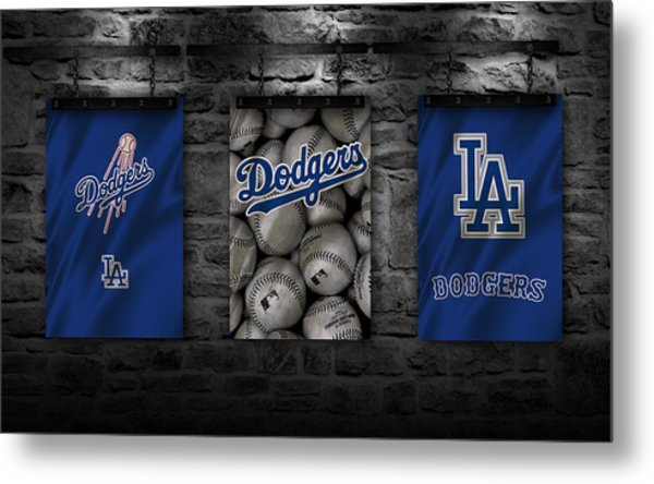 Los Angeles Dodgers Metal Print