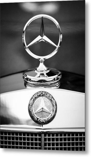 Mercedes-benz Hood Ornament Metal Print
