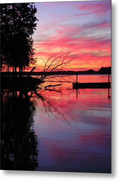Metal Print featuring the photograph Sunset 9 by Lisa Wooten