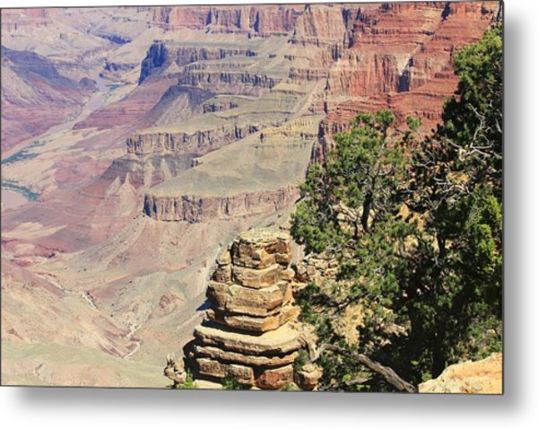The Canyon Metal Print by Douglas Miller
