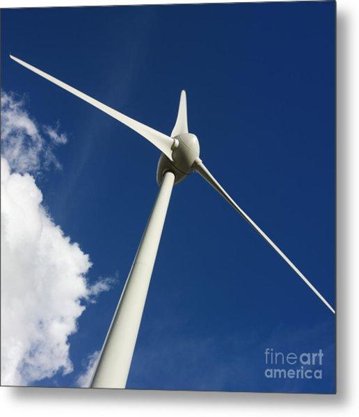 Wind Turbine Metal Print