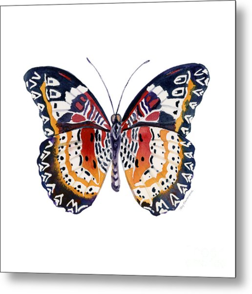 94 Lacewing Butterfly Metal Print