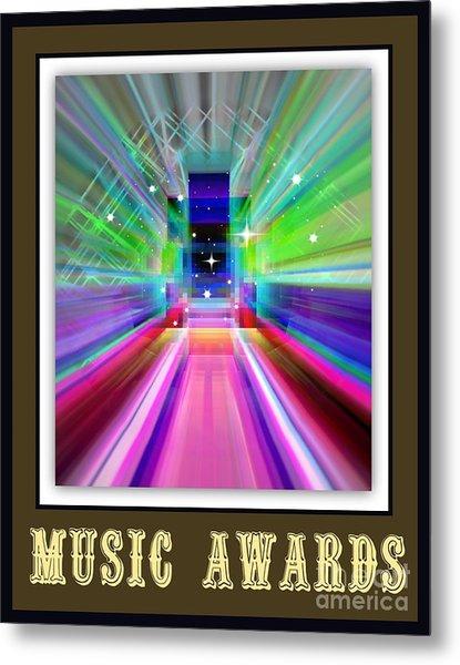 Music Awards Metal Print by Meiers Daniel