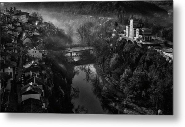 A Beautiful Morning In Veliko Tarnovo Metal Print