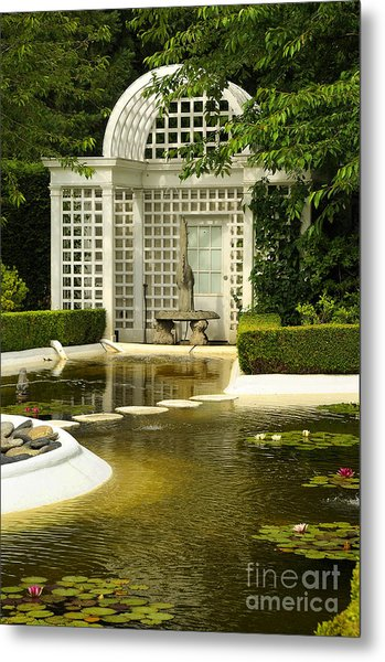 A Beautiful Place To Sit Metal Print