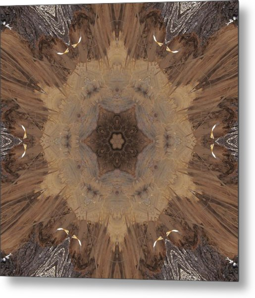 A Beaver's Work Metal Print