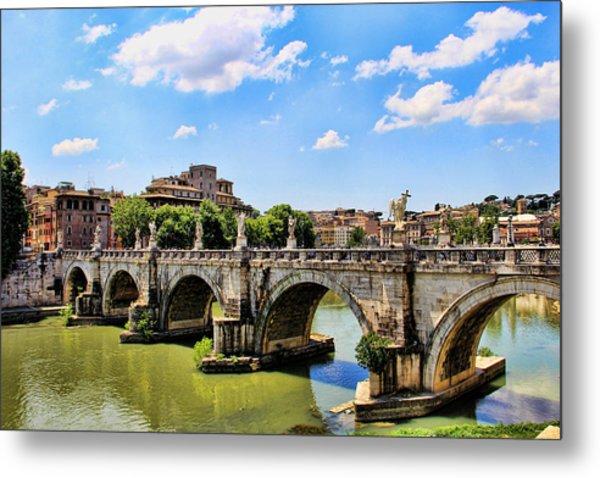 A Bridge In Rome Metal Print