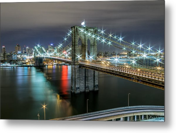 A Brooklyn View  Metal Print