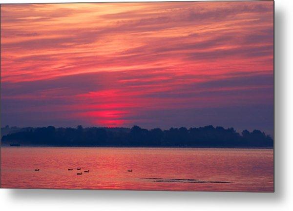 A Chesapeake Bay Sunrise Metal Print