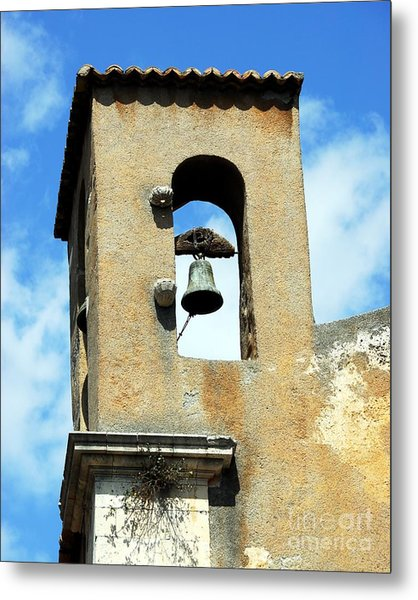 A Church Bell In The Sky 3 Metal Print by Mel Steinhauer