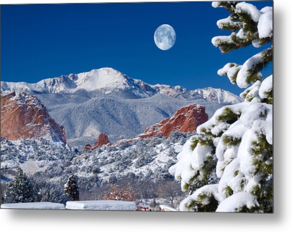 A Colorado Christmas Metal Print