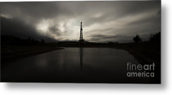 A Conventional Reflection Metal Print