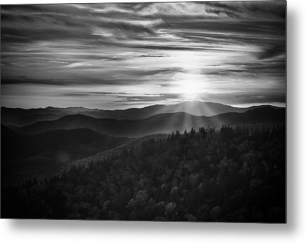 A Cowee Mountains Evening Metal Print