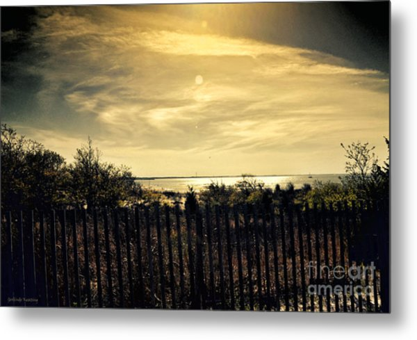 A Day Comes To An End Metal Print
