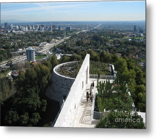 A Day In L.a. Metal Print