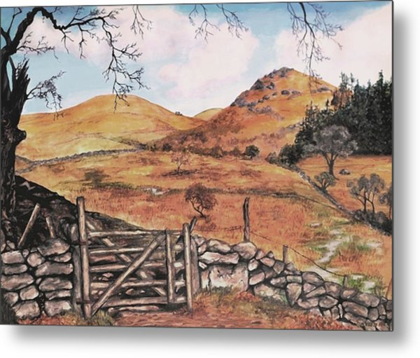 A Day In The Country Metal Print