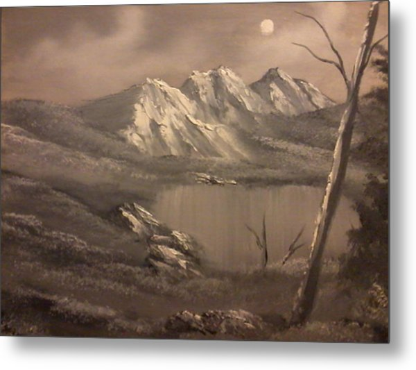 A Day In The Valley Metal Print by Ricky Haug