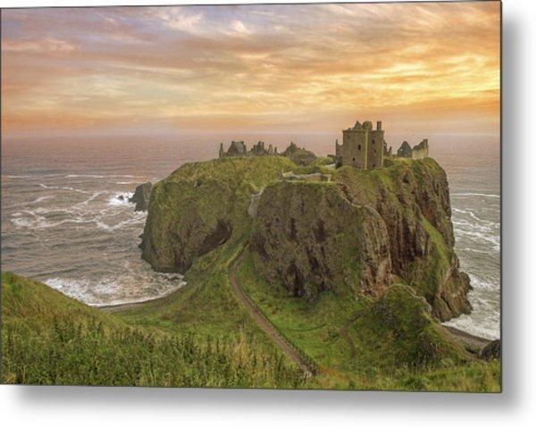 A Dunnottar Castle Sunrise - Scotland - Landscape Metal Print