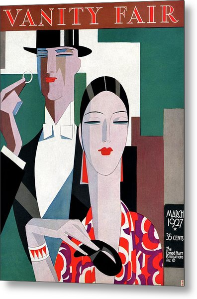 A Elegant Couple Metal Print by Eduardo Garcia Benito
