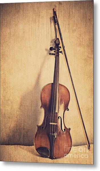 A Fiddle Metal Print
