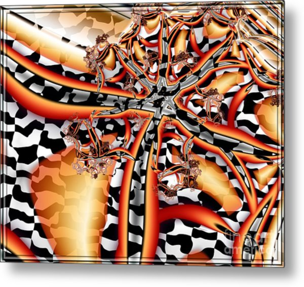 A Flair For The Dramatic 2 Metal Print