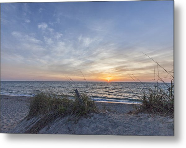 A Glass Of Sunrise Metal Print