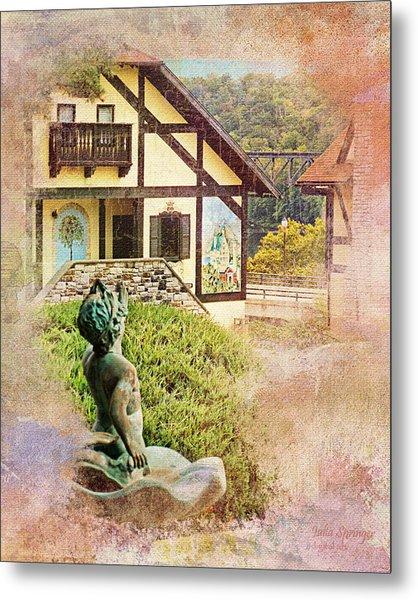 A Glimpse Of Bavaria In West Virginia Metal Print