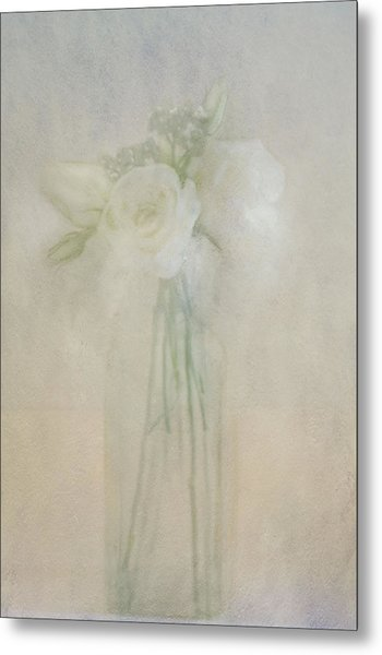 A Glimpse Of Roses Metal Print