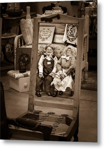A Glimpse Of Togetherness Metal Print