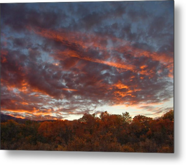 A Grand Sunset 2 Metal Print