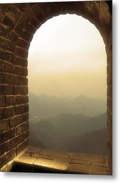 A Great View Of China Metal Print