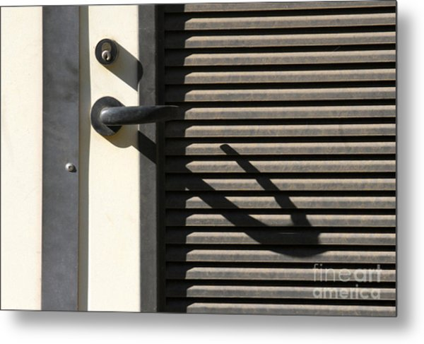A Handle On It Metal Print by Dan Holm