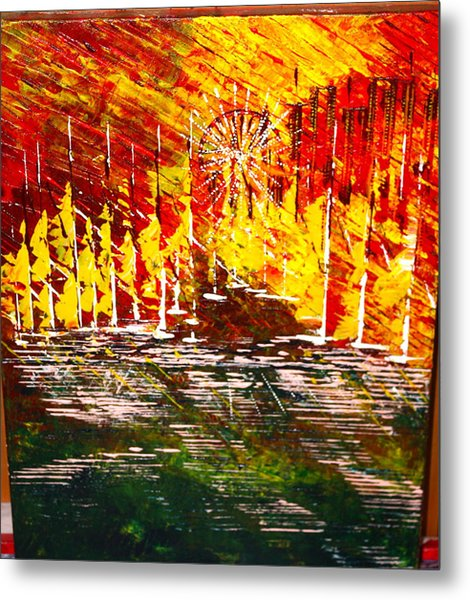 A Hot Summer Day.- Sold Metal Print