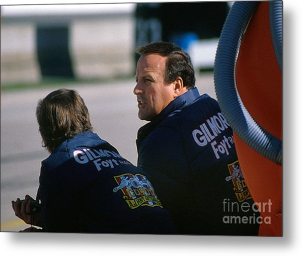 A. J. Foyt At Indy Metal Print