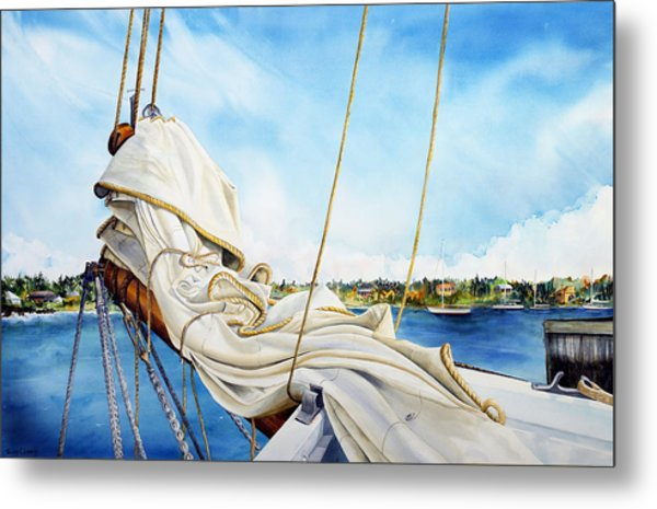 A. J. Meerwald Heading Out Metal Print