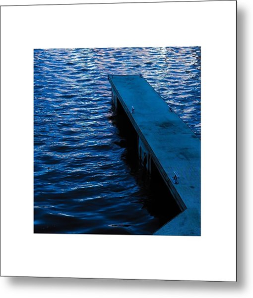 A Jetty's Life Metal Print by Paul Tully